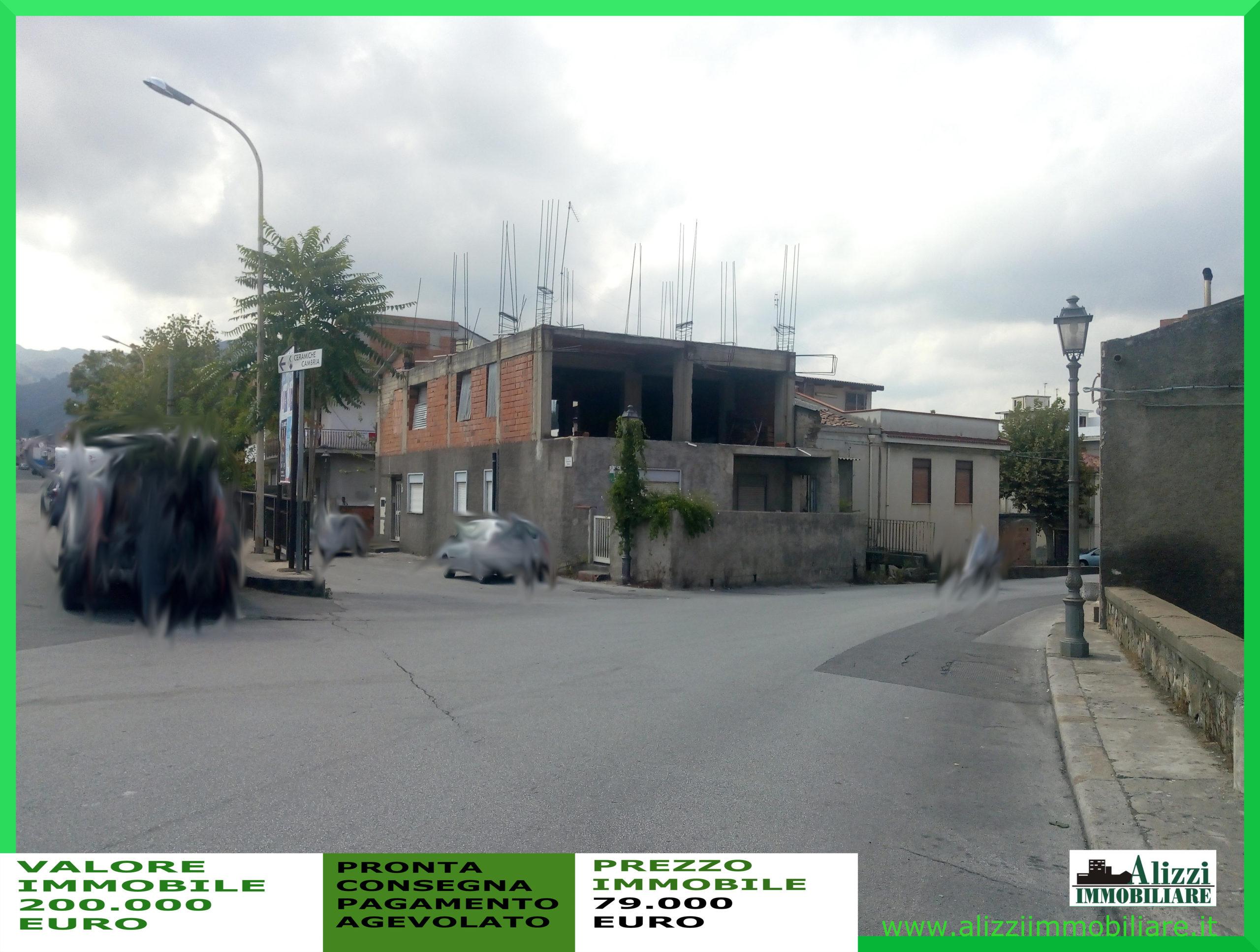 RIF. 937 BARCELLONA P. G. CASA INDIPENDENTE ZONA POZZO DI GOTTO IN VENDITA