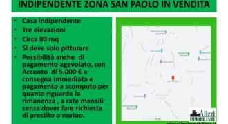 RIF. 1550 BARCELLONA P. G. CASA INDIPENDENTE ZONA SAN PAOLO IN VENDITA