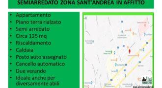 RIF. 2051 BARCELLONA P. G. APPARTAMENTO SEMI ARREDATO ZONA SANT'ANDREA IN AFFITTO